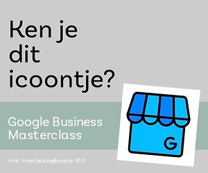 Google mijn bedrijf | Masterclass op 10 oktober 2019
